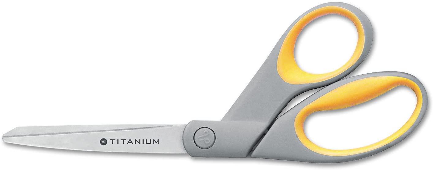Westcott 13731 Titanium Bonded Scissors, 8-Inch Bent