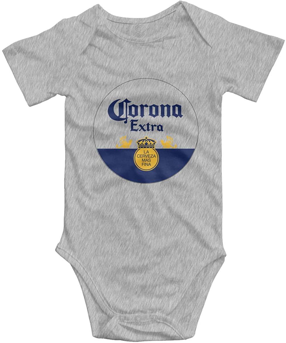Corona Crown Beer Funny Infant Jumpsuit Romper Baby Layette Bodysuit Kids' One-Piece (0-2T)
