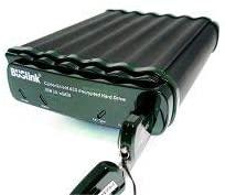 Buslink Ciphershield Encryption External Drive Hard Drive 6 TB USB 3.0/ eSATA300, Black/Green (CSE-6T-SU3)