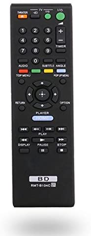Universal Blu Ray BD Remote Control for BDP-S570 BDP-S470 BDP-S270 Sony Blu-Ray Disc Player