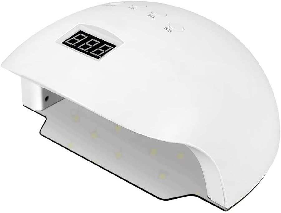 MUYIER Nail Phototherapy Machine, New Nail Light Intelligent Phototherapy Machine for Nails