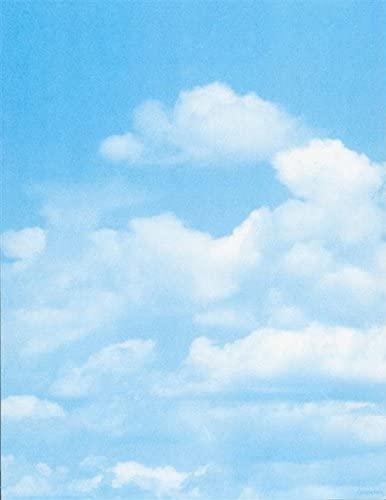 Geographics Clouds Letterhead, 8.5x11, FSC Mix, 25/pack (48976)