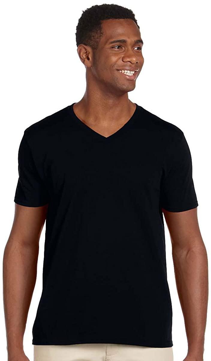 Gildan G64V00 Men's Softstyle V-Neck T-Shirt