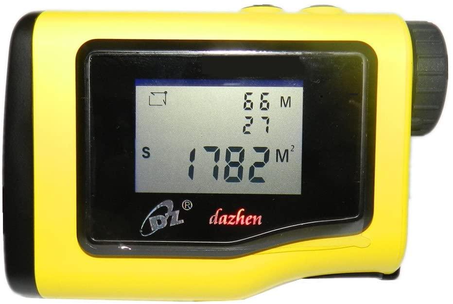DaZhen Rangefinder 600Y with LCD Angle Measure Tool Measuring Height Laser Measure Tools Digital Meter Measurement Area, Circle, Rectangular