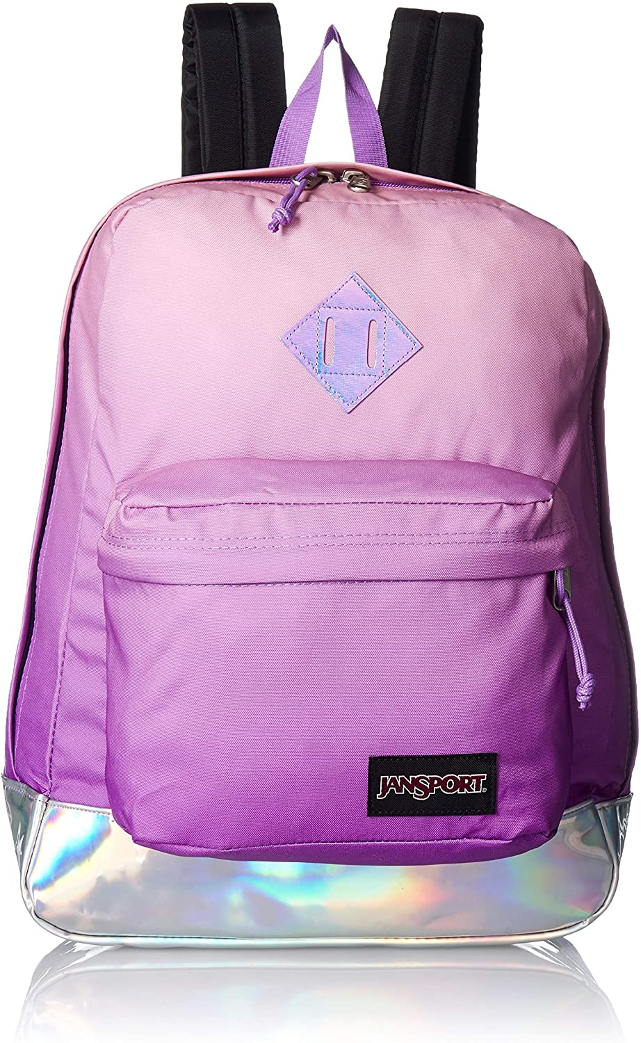 JanSport Super FX Backpack - Trendy School Pack With A Unique Textured Surface