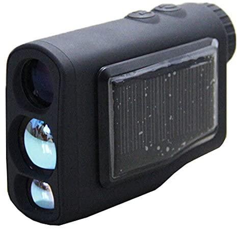 Onick 1200T Solar Series Laser Rangefinder/Laser Rangefinder for Hunting and Golf with Laser Range Speed Measurement/Free Battery