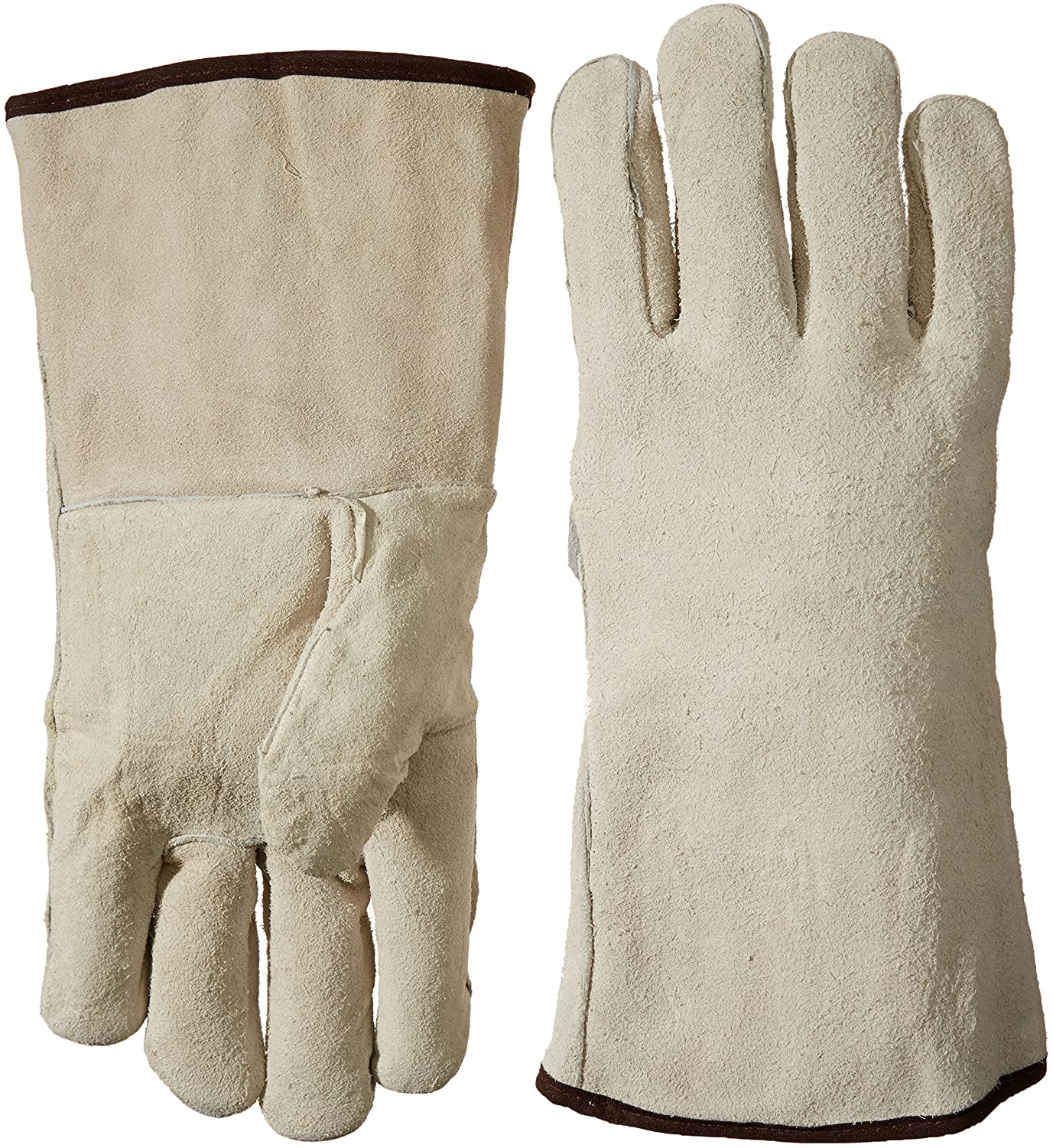 Bon 41-141 Leather Welder Gloves, Large