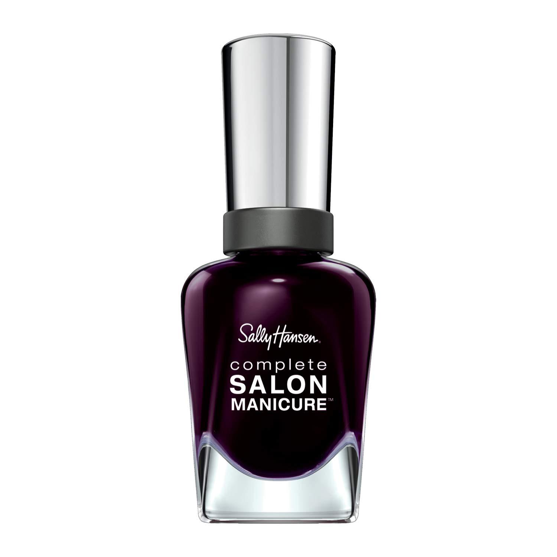 Sally Hansen Complete Salon Manicure Black To Basics, Lucky Dress, 0.5 Fluid Ounce