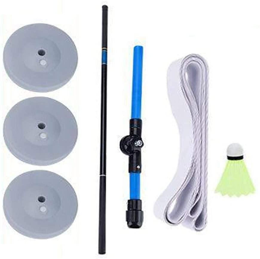 Badminton Training Device Set Portable Single-Player Rebound Practice Tool