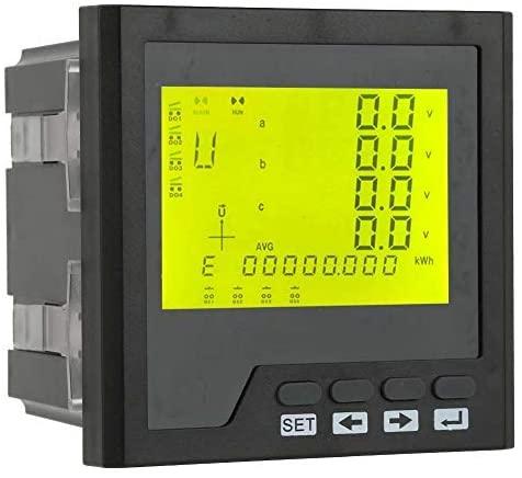 Network analyzer LT194E-9SY Multimeter panel AC 400V / 5A LED Three phase AC ammeter Voltmeter Programmable ammeter Voltmeter