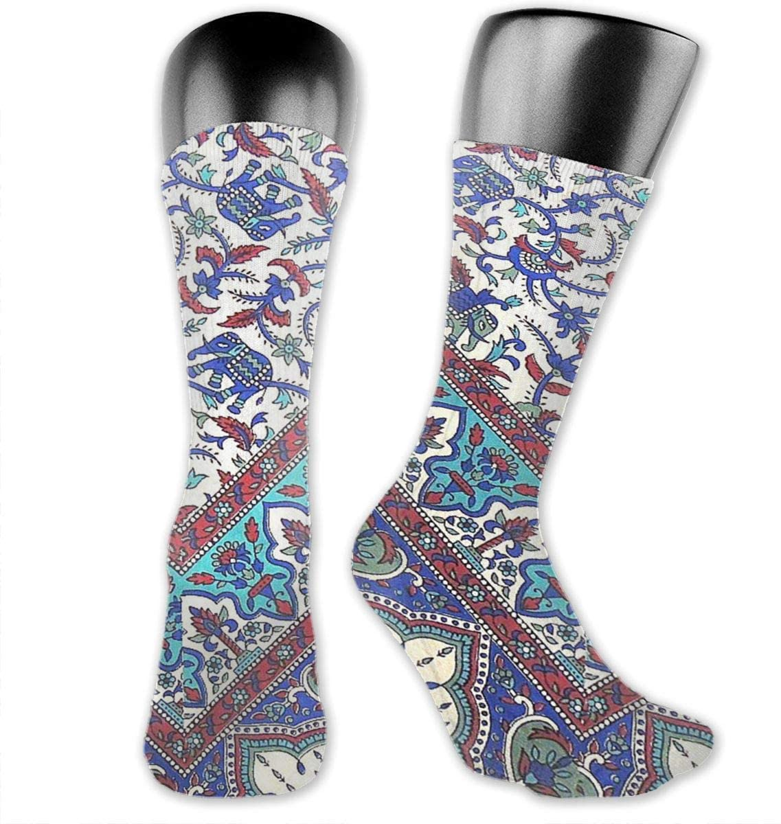 Indian Elephant Unisex Outdoor Long Socks Sport Athletic Crew Socks Stockings