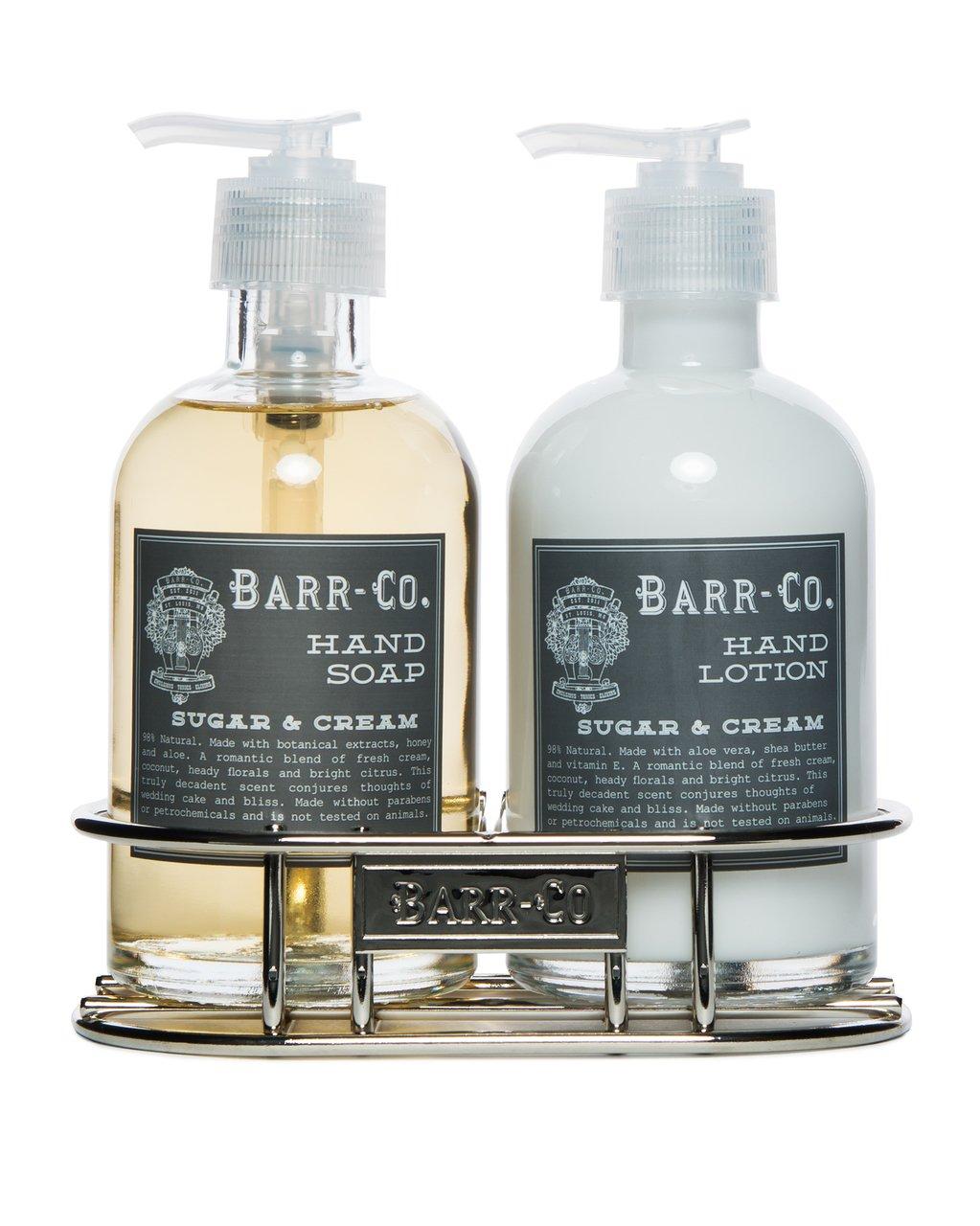 Barr Co Sugar N Cream Hand & Body Duo with Caddy by k hall designs