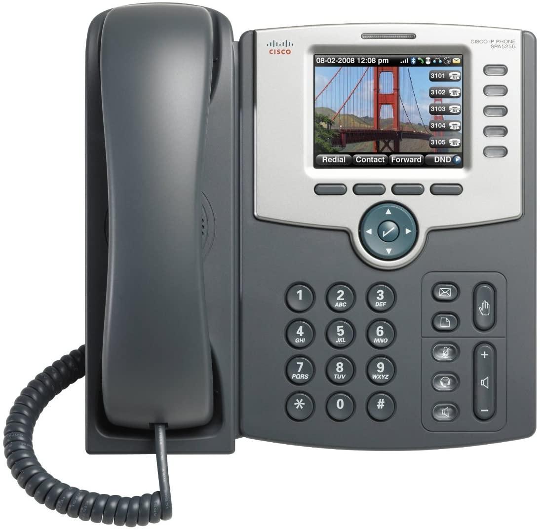 Cisco SPA 525G2 IP Phone - Wireless - Desktop