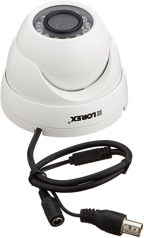 LOREX LEV1522B Add-On 720p HD Dome Security Camera for Lhv100 Series DVRs
