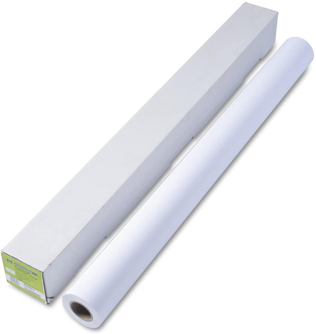 HP Q1414B Designjet Universal Heavyweight Paper, 6.1 mil, 42-Inch x 100 ft, White