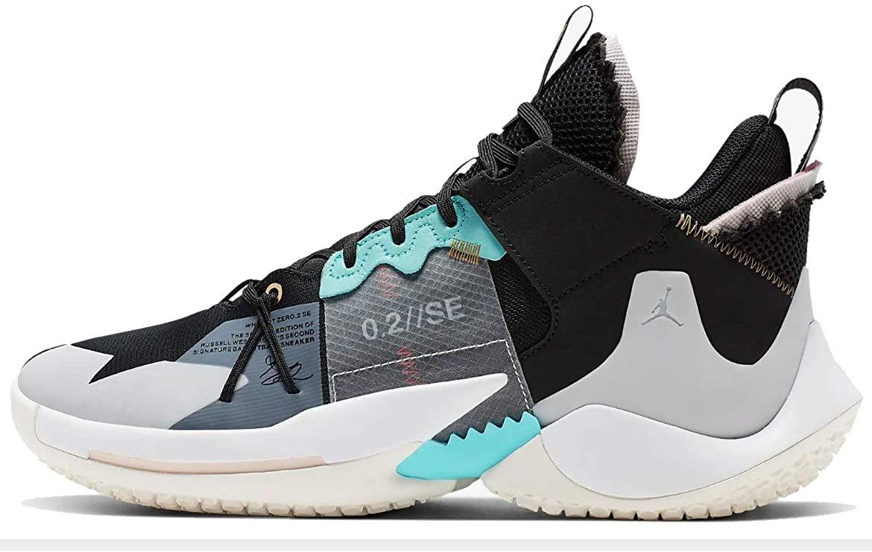 Nike Jordan Why Not Zer0.2 Se Mens Aq3562-001 Size 12.5