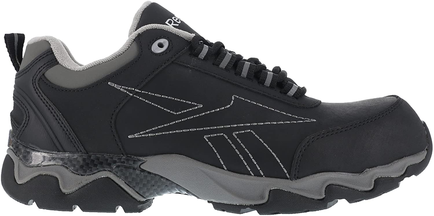Reebok RB1062 Mens Waterproof Safety Boots - Black/Grey - 15.0 - M