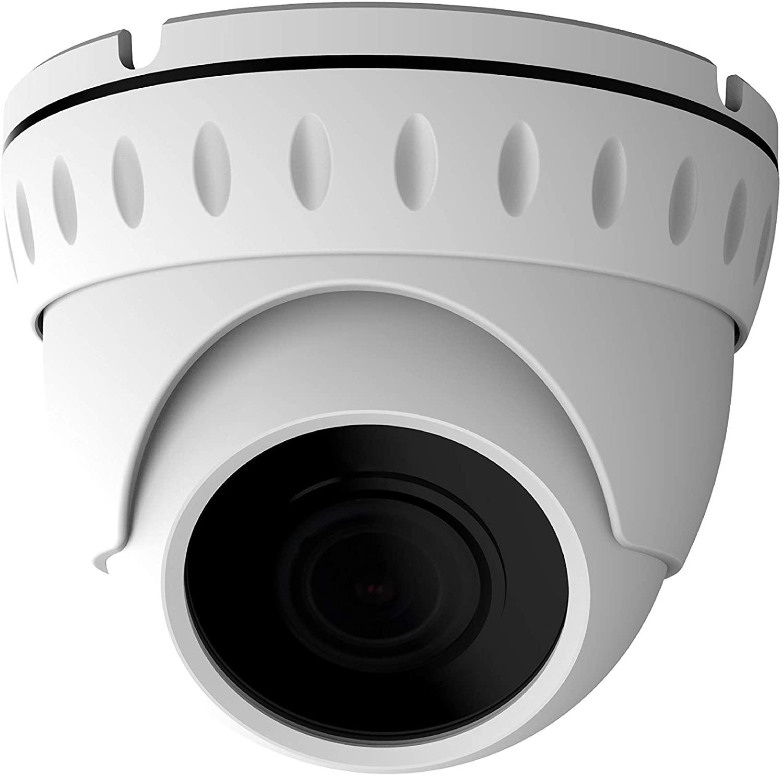 VIEWISE HD 1080P 2 Megapixel Dome Camera, SONY Starvis CMOS Sensor, Indoor / Outdoor Surveillance Security Camera 3.6mm Lens Day & Night Vision 4-in-1 HD-TVI, AHD, CVI, CVBS Eyeball Turret Camera
