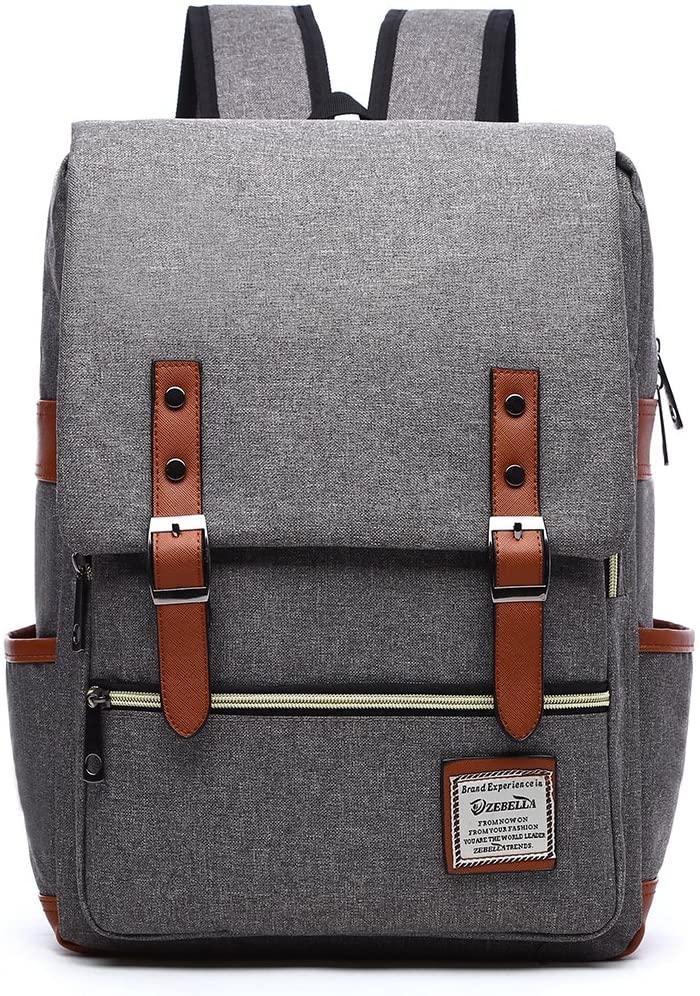 Zebella Casual Lightweight College Backpack Laptop Bag School Travel Daypack Unisex