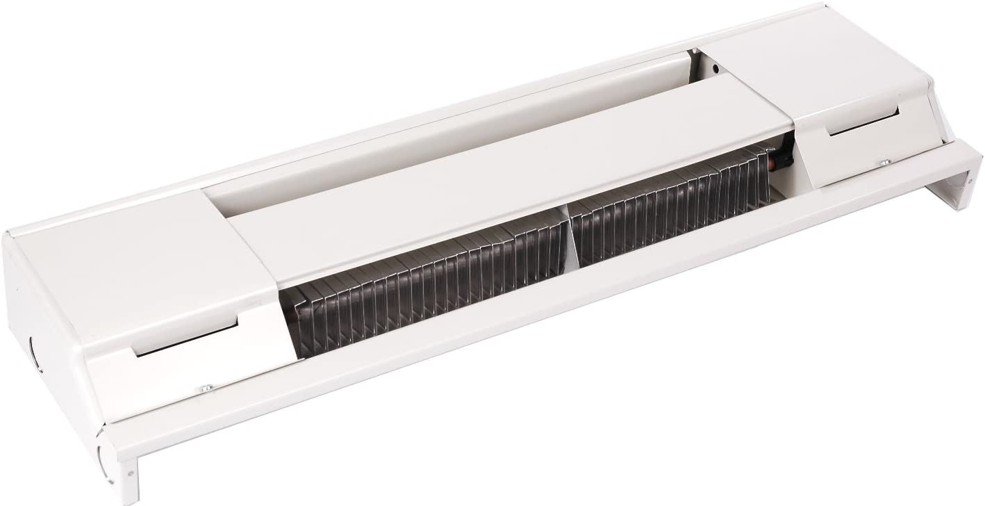Qmark 2544W 2500 Residential Baseboard Heater Navajo White