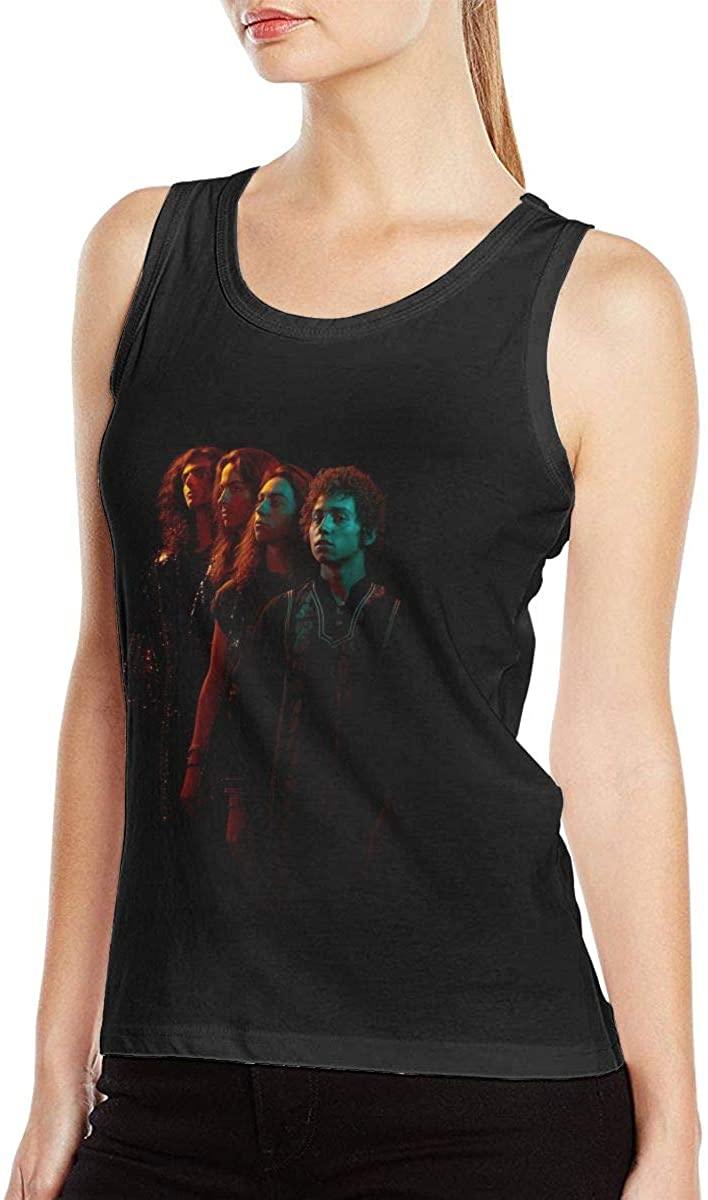 Greta Van Fleet When The Curtain Falls Women Sexy Tank Classic Fashion Vest T-Shirt Black