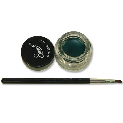 Starry Long Lasting Waterproof Eyeliner Gel with Brush Tantalizing Teal Blue Teal Green 2011 New Color