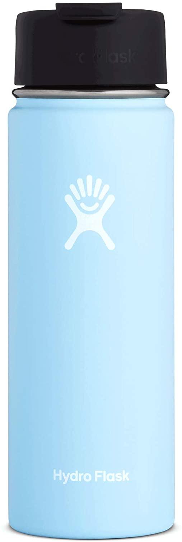 Hydro Flask Travel Coffee Flask, 20 oz, Frost