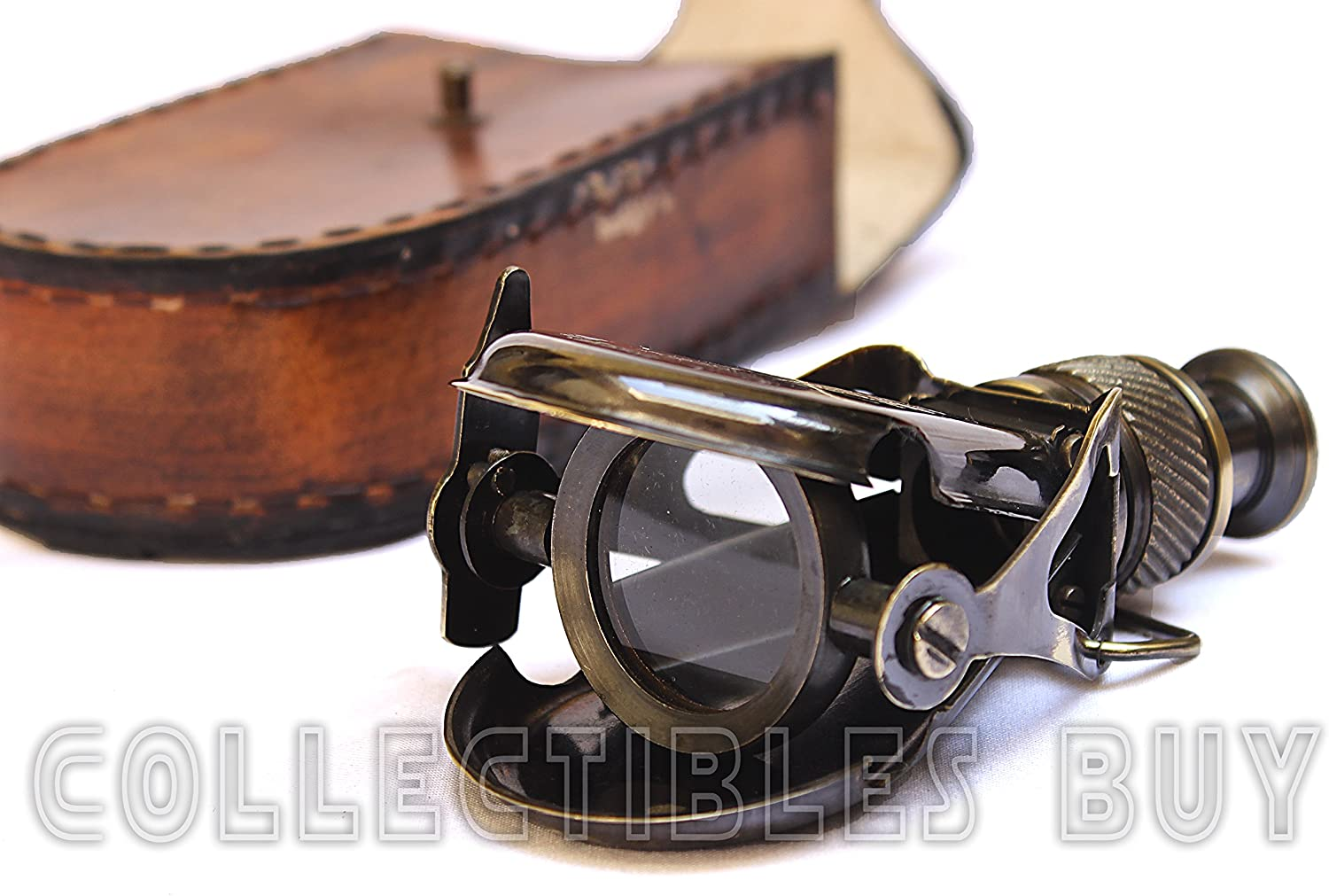 Nautical Columbus Small Single Brass Marine Vintage Binocular R & J Beck London 1857 Replica Model by Collectibles Buy