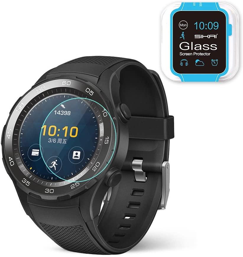 SIKAI Huawei Watch 2 Screen Protector 9H Anti Scratched Glass Screen Protector for Huawei Watch 2 (Screen Protector)
