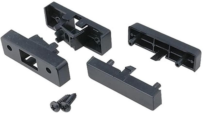 1 DIN Black Fascia Facia Plate Adaptor Panel Surround for Audi A3 Till 1999