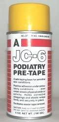 Aeroseptics JC-6 Podiatry Pre-Tape Dressing Wrap Adherent Spray 6-Oz Aerosol