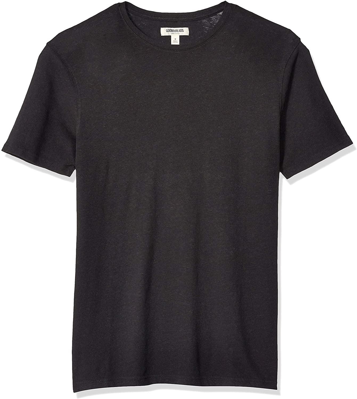DHgate Brand - Goodthreads Men's Linen Cotton Crewneck T-Shirt