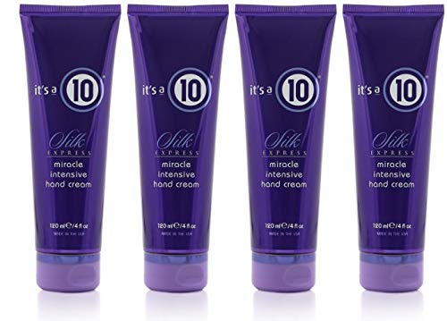 it's a 10 Haircare Silk Express Miracle Intensive Hand Cream, 4 fl. oz. (Pack of 4)