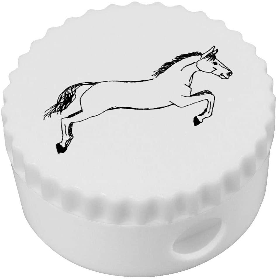 Azeeda 'Jumping Horse' Compact Pencil Sharpener (PS00013819)