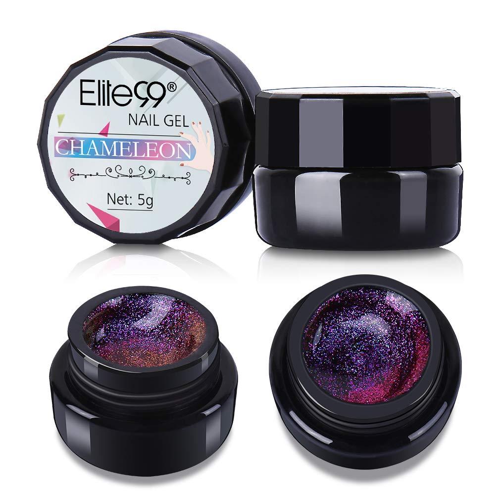 Elite99 Chameleon Color Changing Gel Polish Gorgeous Soak off UV LED Manicure 5ml 3004
