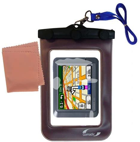 Underwater case for The Garmin Nuvi 275T - Weather and Waterproof case Safely Protects Against The Elements