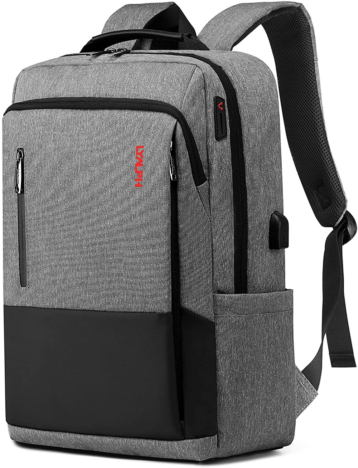 Laptop Backpack For Travel,USB Charging Port,Water Resistant Fit 17 Inch
