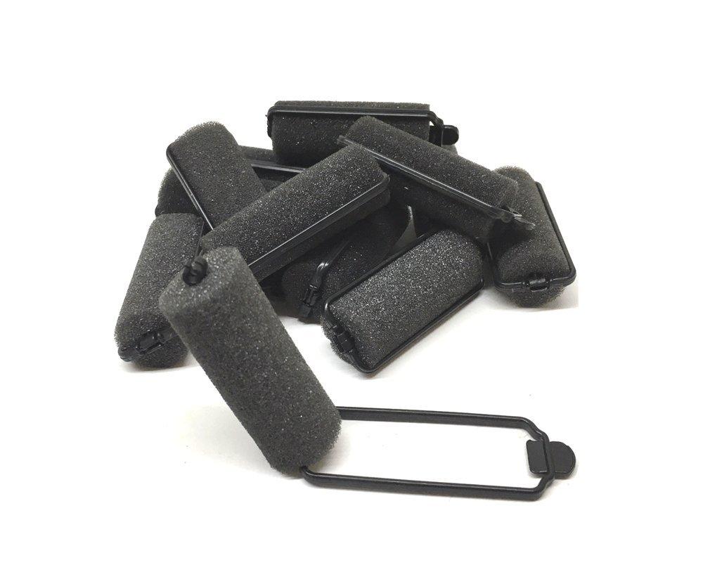 12 Piece Foam Sponge Hair Rollers Small Size (12PC)