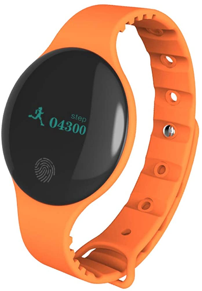 Bluetooth Smart Watch Sports Touch Screen Pedometer Childrens and Adults Smart Silicone Bracelet IP65 Waterproof Fitness Activity Tracker GPS Tracker Sleep Monitor
