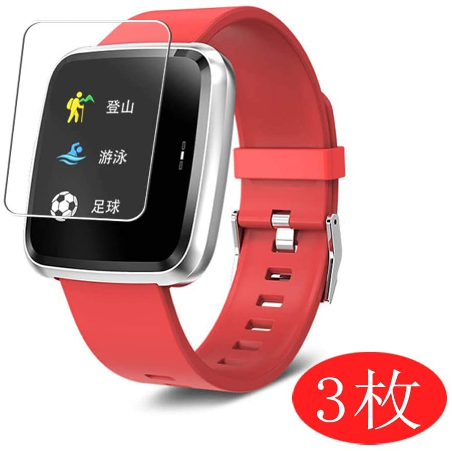 [3 Pack] Synvy Screen Protector for Smartwatch Smart Watch SYNOKE 1.3