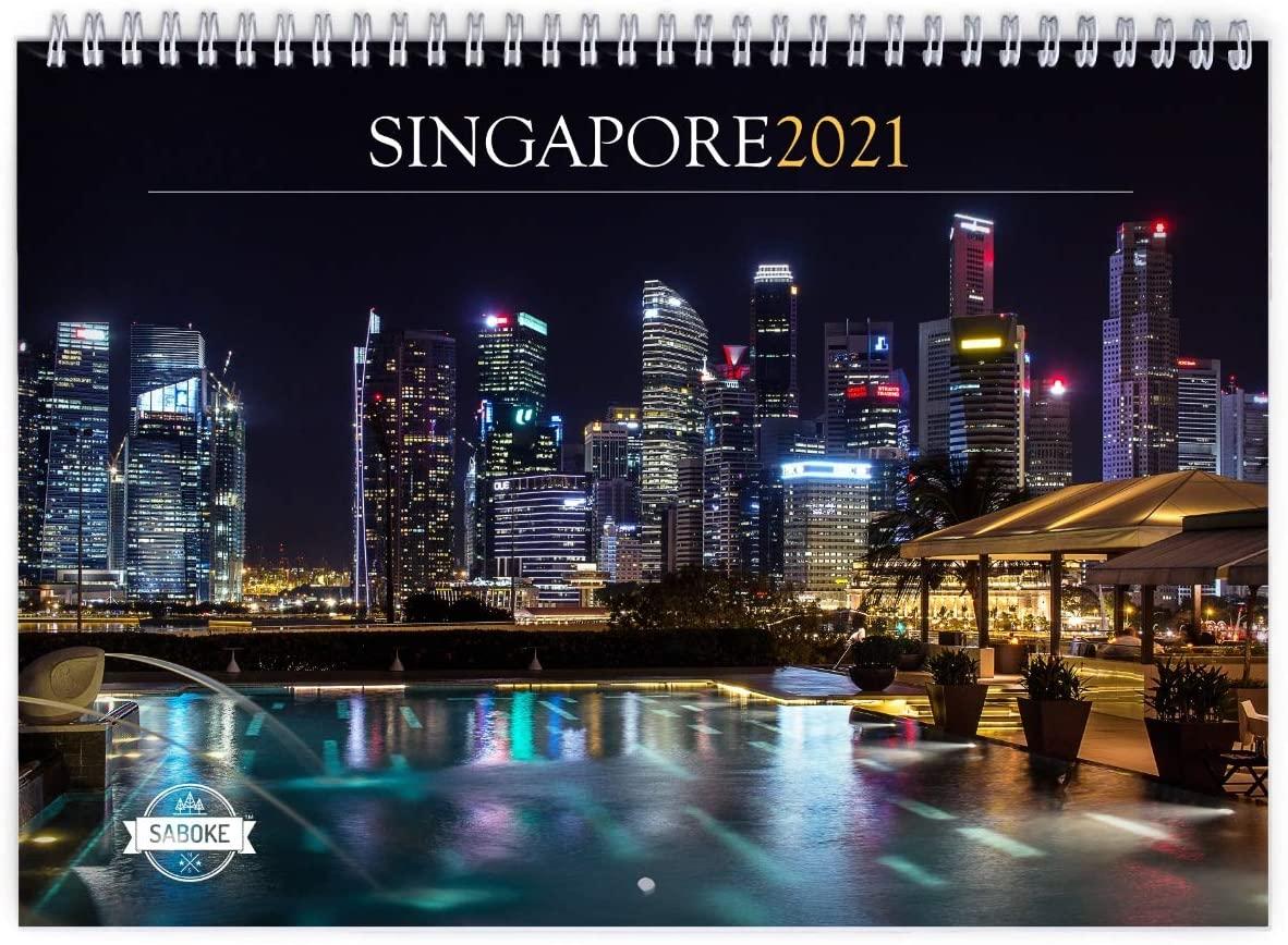 Singapore 2021 Wall Calendar
