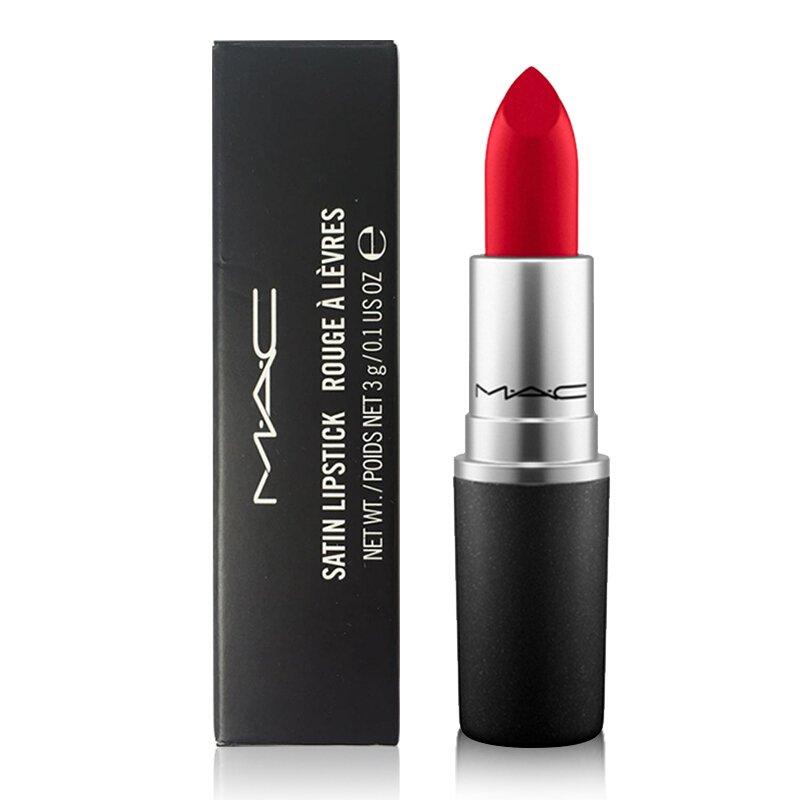 MAC Lipstick Satin Lipstick MAC Red