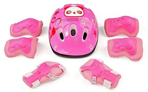 scooter Children's Bike Helmet Knee Pads Elbow Pads and Wrist Support