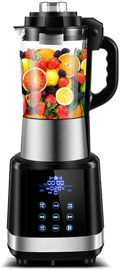 Beach Wave Crusher Blender with 43oz Glass Jar, Ice Crush, Shakes and Smoothies, Stainless Steel.(1000W, 1.2L)