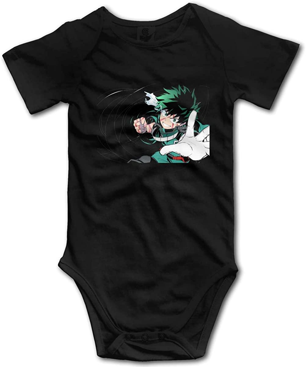 CHEERPEACETIME My Hero Academia Deku Baby Boy Girl Jersey Bodysuits Jumpsuit Onesie Pajamas