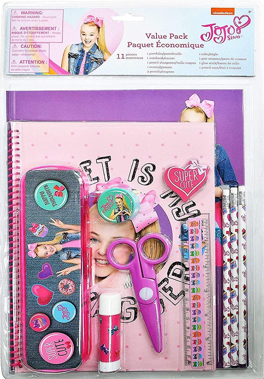 JoJo Siwa Stationary Set Pink