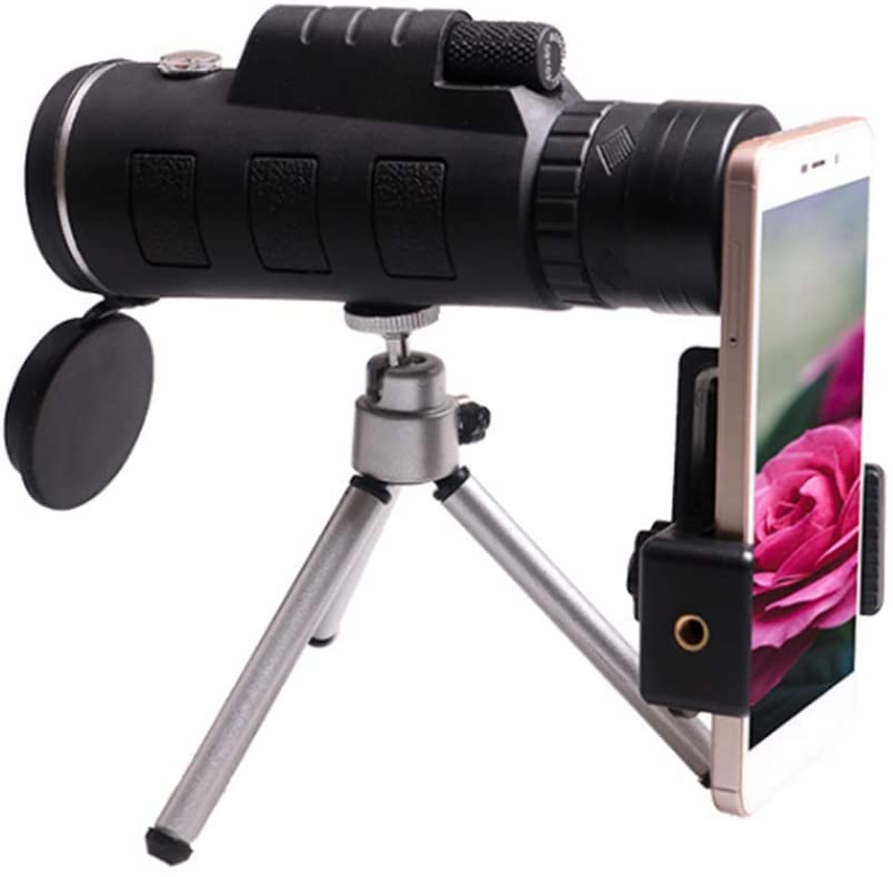 Shapl Mobile Phones Monocular Telescope | with Compass and Tripod,Astronomical Refractor Telescope,Mini Telescope,Durable Outdoor Application,Portable Design, Convenience to Carry.