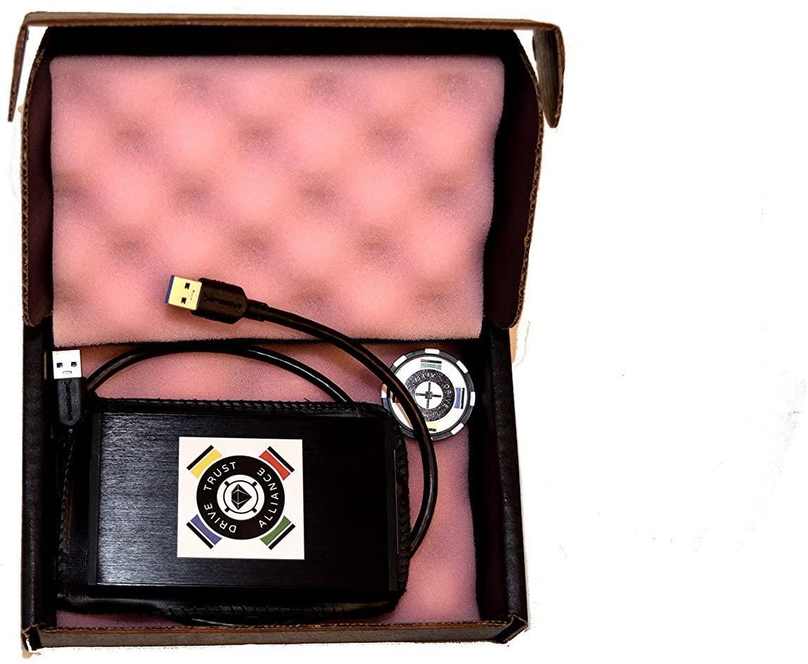 DTA Hardware Encrypting Portable External USB 3.0 Drive (Personal)