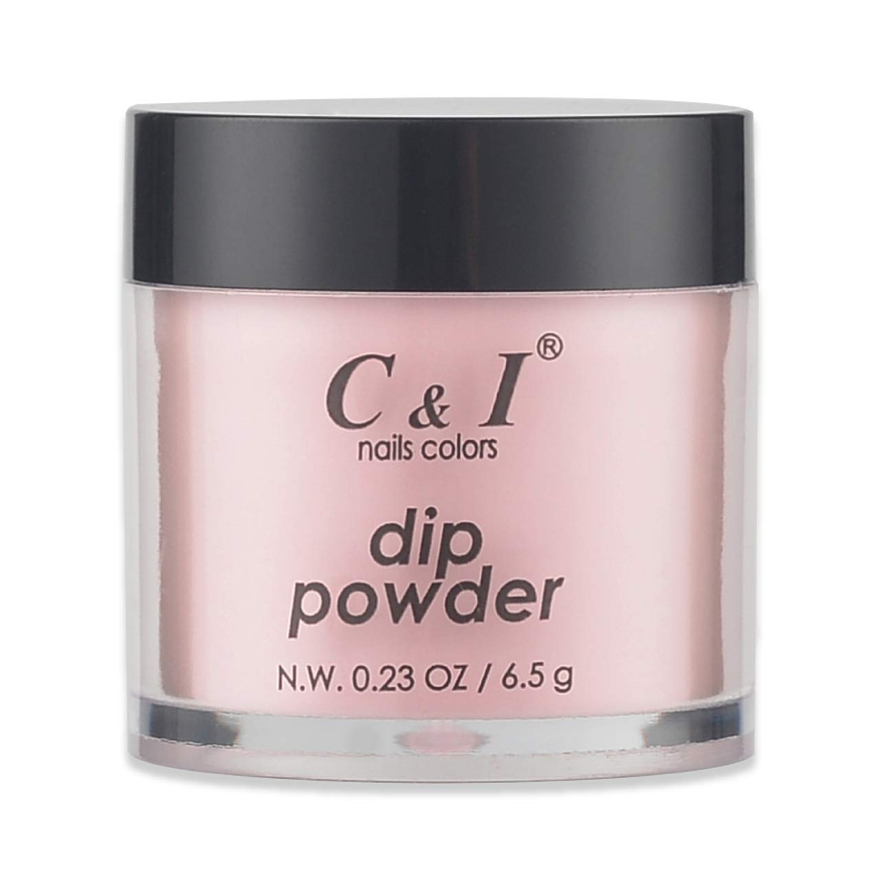 C & I Dipping Powder, Nail Colors, Gel Effect, Color # 8 Salmon, 0.23 oz, 6.5 g, naked color system (1 pc)