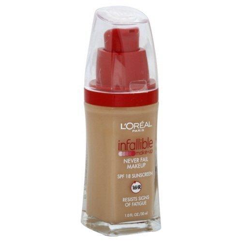 L'Oreal Paris Infallible Advanced Never Fail Makeup, Buff Beige (2-Pack)
